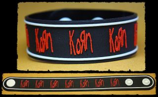 KORN Rubber Bracelet Wristband The Path of Totality Red
