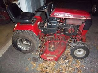 WHEEL HORSE 416 8 16HP LAWN & GARDEN TRACTOR W/ 48 MOWER DECK