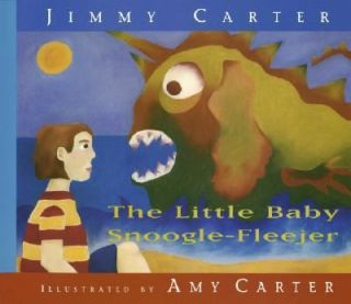 The Little Baby Snoogle Fleejer by Jimmy Carter 1995, Hardcover