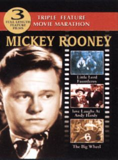 Mickey Rooney DVD Triple Feature Little Lord Fauntleroy Love Laughs at