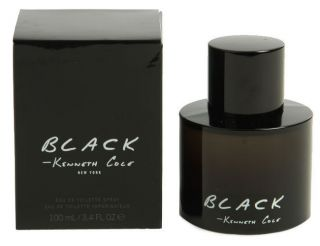 kenneth cole black men cologne 3 4 new in box
