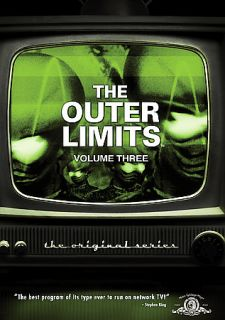 Outer Limits   The Original Series Vol. 3 DVD, 2009, 3 Disc Set, Dual