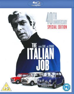 The Italian Job (Blu ray Disc, 2010, 40th Anniversary Editio