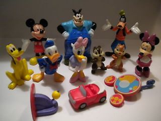 NEW Mickey Mouse Clubhouse*Toy Figure Lot+Book/Birth​day Cake Topper