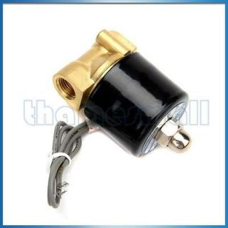 DC 12V 1/4 Inch Electric Solenoid Valve for Air Water Diesel