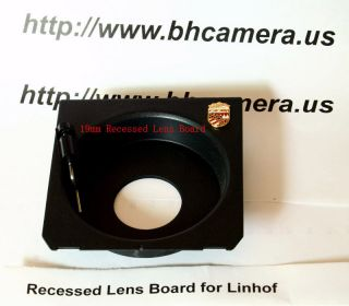 96X 99mm Recessed Lens board for Linhof wisa Shen Hao 4X5 Camera
