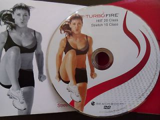 Chalene BEACHBODY TURBOFIRE HIT 20 class Stretch 10 one disc only NEW