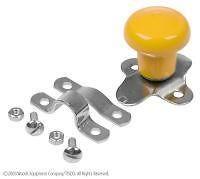 Steering Wheel Spinner Knob Yellow fits John Deere