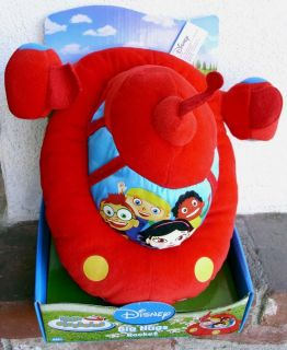 DISNEY LITTLE EINSTEINS BIG HUGS SOFT STUFFED ROCKET   NIB ONLY ONES