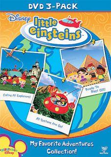 NIP DISNEY LITTLE EINSTEINS Lot of 3 DVDs Our Huge Adventure Mission