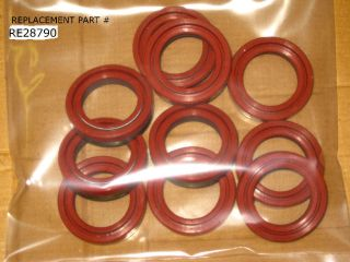 JOHN DEERE RE28790 HYDRAULIC PUMP SEAL WHOLESALE LOT 10 SEALS RE28790