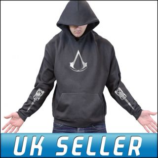 Assassins Creed 3 Join or Die PS3 Limited Blade Hoody Hoodie Mens