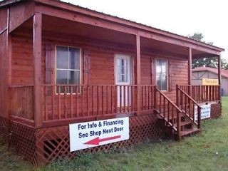 cabin kit 30 x30 porch easy to assemble prefab time left $ 9150 00 0