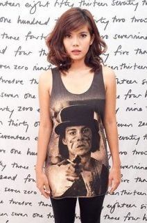 JOHNNY DEPP Dead Man Movie POP ART Classic WOMEN T SHIRT DRESS TANK