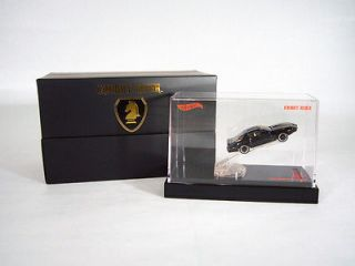 Hot Wheels 164 SDCC 2012 KITT KNIGHT RIDER PONTIAC TRANS AM LIGHT