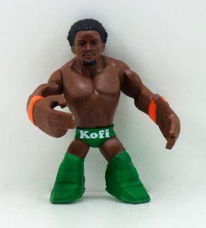 Mattel 2010 WWE Wrestling WWE Rumblers KOFI KINGSTON Loose Figure Rare
