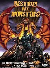 Destroy All Monsters DVD, 2000