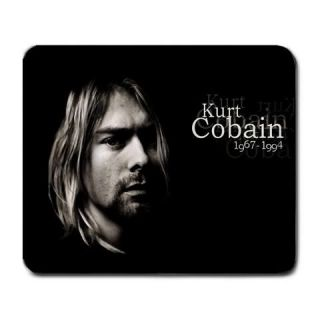 new hot kurt cobain nirvana mouse pad mat rare from