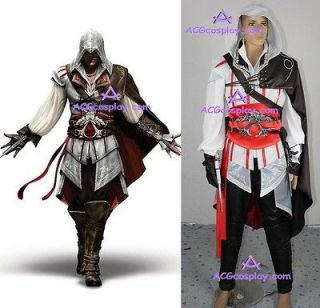 Assassins Creed II Ezio cosplay costume high quality inlcude big