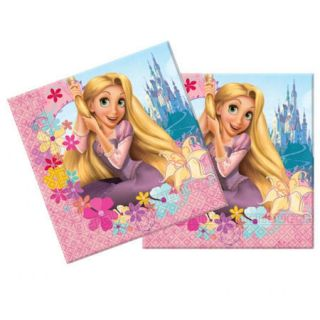 rapunzel tangled birthday party pack of 20 napkins from united