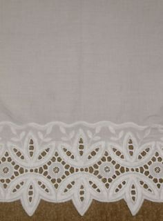 SHABBY COUNTRY CHIC L 60CURTAINS VALANCE PANELS VINTAGE COTTAGE