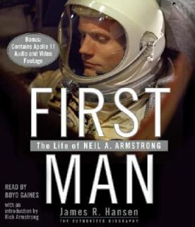 Life of Neil A. Armstrong by James R. Hansen 2005, CD, Abridged