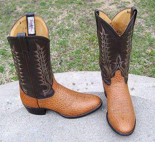 tony lama buckaroo cowboy western boots men s 10 ee