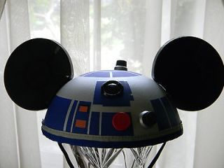 Disney Star Wars R2D2 EAR HAT Mickey Parks Exclusive Costume NWT
