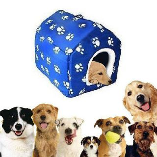 White Paw Printed Dog Cat Pet Waterproof House Tent Big US Stock New