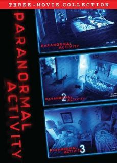 Paranormal Activity Trilogy Gift Set (DVD, 2012, 3 Disc Set)