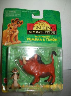 DISNEY THE LION KING SIMBAS PRIDE BEST FRIENDS PUMBAA & TIMON FREE USA