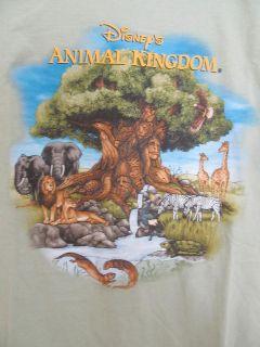 Walt Disney World Animal Kingdom T Shirt Graphic Tee Short Sleeve