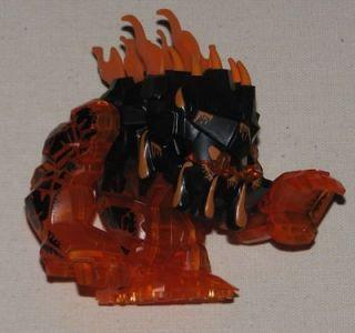 Lego Power Miners Trans Orange Rock LAVA MONSTER Eruptorr Figure 8191