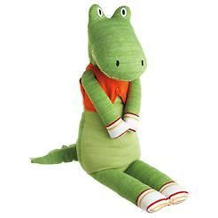 gilbert the large gator 35 inch monkeez sock monkey sale new gift