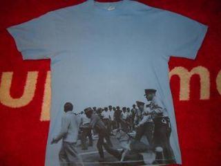 SUPREME BOX LOGO OG ALABAMA 1963 TEE BLUE SHIRT L LARGE COMME SAFARI