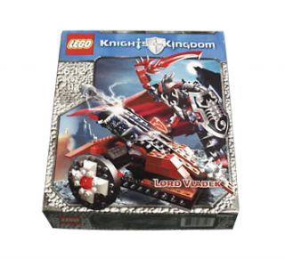 Lego Castle Knights Kingdom II Lord Vladek 8702