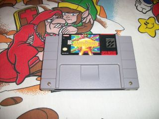SUNSET RIDERS MINT/ NM SNES SUPER NINTENDO GAME HAGANE EARTHBOUND SO