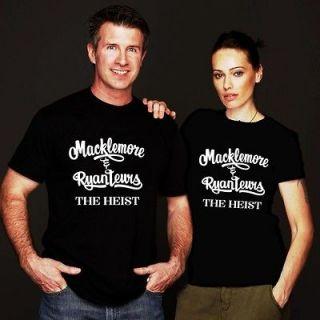 NEW MACKLEMORE & RYAN LEWIS THE HEIST TOUR BLACK SHIRT S,M,L,XL,2XL