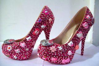 hello kitty heels sparkle kitty