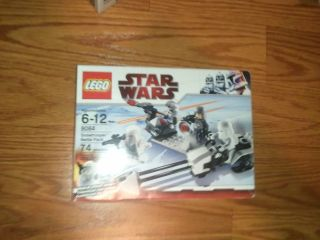 lego star wars snowtrooper battle pack clone war hoth army