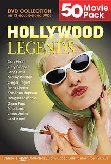 Hollywood Legends 50 Movie Pack DVD, 2004, 12 Disc Set