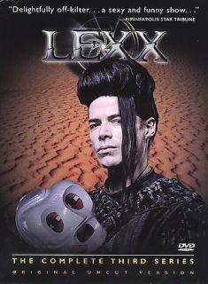 Lexx   The Complete Third Series DVD, 2003, 4 Disc Set, Uncut