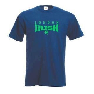 new london irish rugby union club t shirt medium from