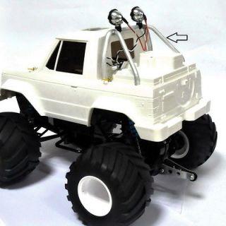JV Shop Aluminum ROLL BAR with LED Light(for tamiya Mitsubishi Montero