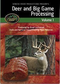 deer and big game processing dvd outdoor edge diy time