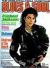 Michael Jackson Magazine Blues And Soul 1987 UK Rare Bad Thriller King