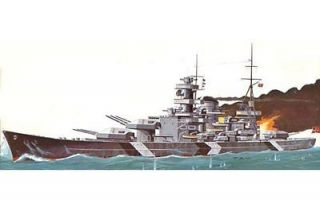 Lindberg 1/762 Scharnhorst German Battleship Plastic Scale Model Kit