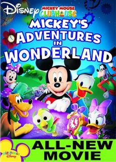 Mickey Mouse Clubhouse Mickeys Adventures In Wonderland DVD, 2009