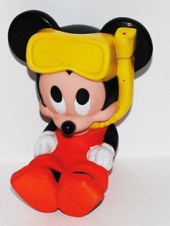 mickey mouse baby scuba squeezy toy disney