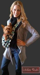 New Little Rubi Pet dog cat sling carrier MANY colors SOLIDS S M L XL